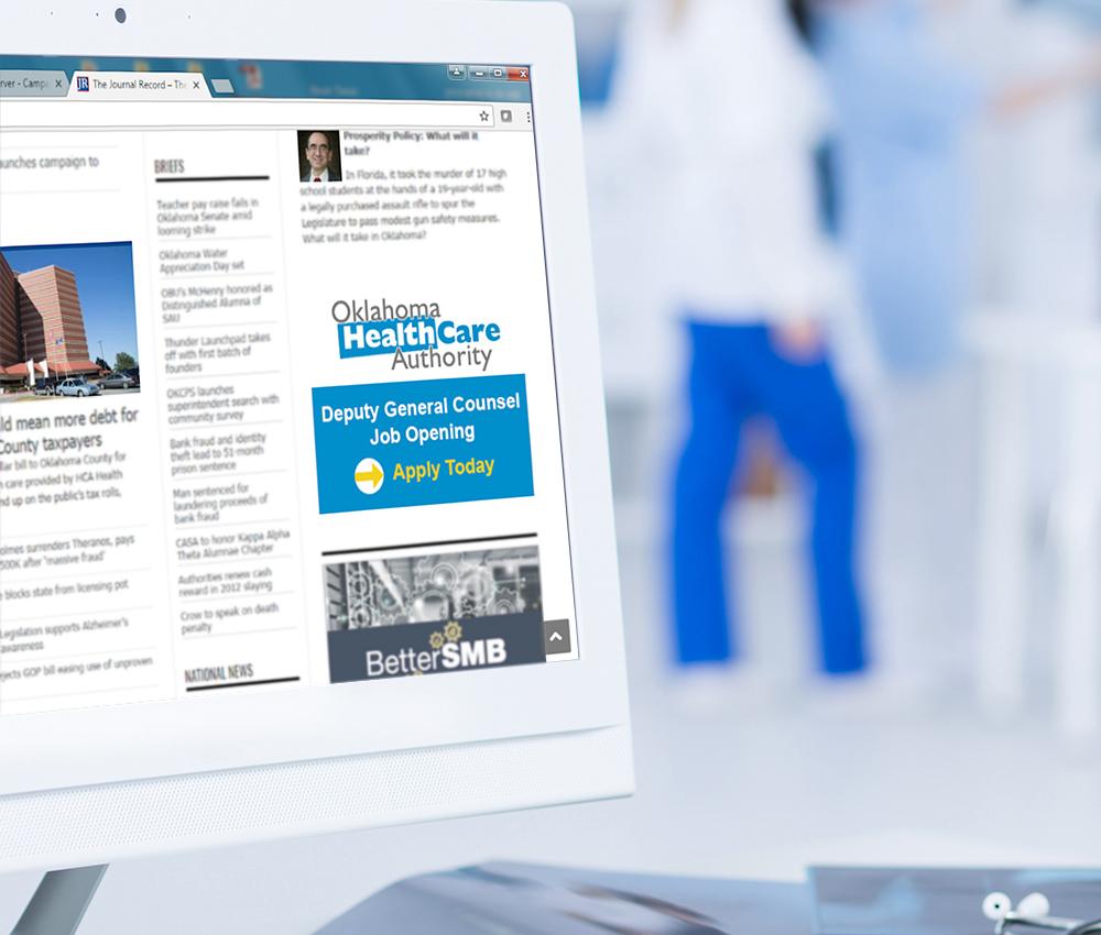 Online Job Banner