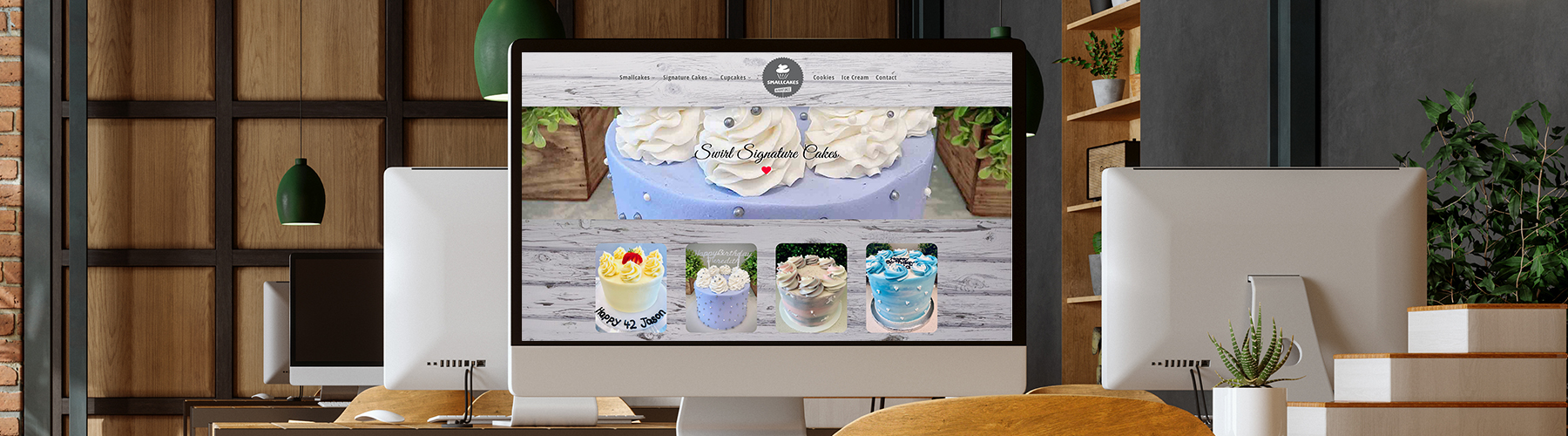 Small Cakes website